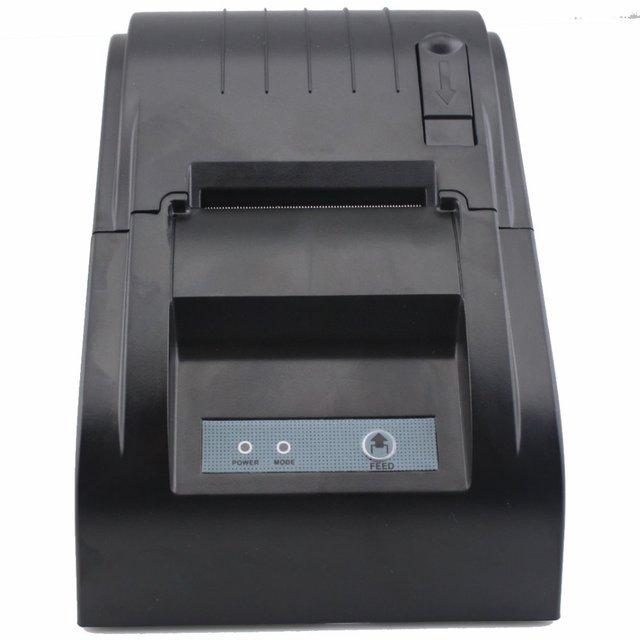 JP-5890T 58 мм Термопринтер 58 мм Чековый Принтер Термопринтер Высокоскоростной Термальный Принтер POS 58 мм