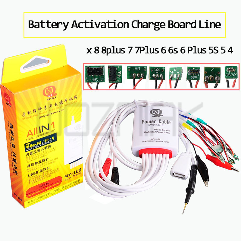 Multifunction Power Supply Current Test Cable Battery Activation Charge Board Line for iPhone x 8 8plus 7 7Plus 6 6s 6 Plus 5S 5 цена