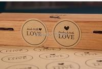 100 шт./лот ручная серии бумага печать наклейка каваи клей наклейки для домашнего хлебобулочные и подарочная упаковка
