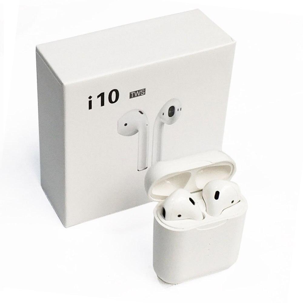 FDBRO dans l'oreille i10 Tws Bt 5.0 véritables écouteurs sans fil 2-3 heures de temps de jeu Original nouveau Bluetooth écouteurs Mini Tws i9s Q32 écouteurs