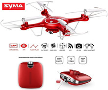 SYMA X5UW Mini Drone With Camera HD 720P WIFI FPV RC Helicopter Elfie Drones Headless 6Axis Uav Quadcopter Dron 3D Flip Toy