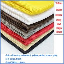 אפור/אדום/לבן/שחור/בז /חום/צהוב רמקול אבק בד גריל מסנן בד רשת רמקול רשת בד מטלית אבק 1.4x0.5m
