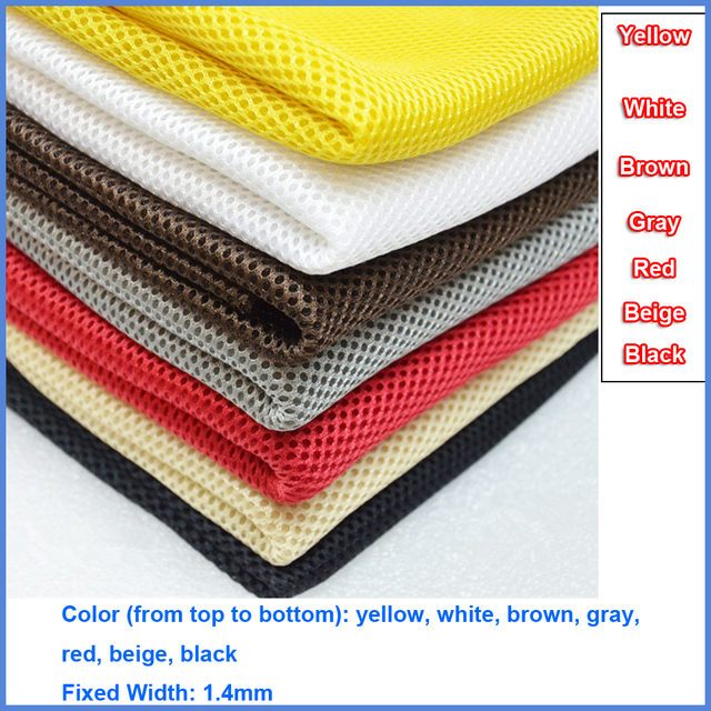 Gray/Red/White/Black/Beige/Brown/Yellow Speaker Dust Cloth Grill Filter Fabric Mesh Speaker Mesh Cloth Dustcloth 1.4x0.5m