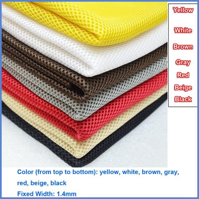 Szary/czerwony/biały/czarny/beżowy/brązowy/żółty głośnik ścierka do kurzu Grill tkanina filtracyjna siatka głośnikowa tkanina z siateczki kurz 1.4x0.5m