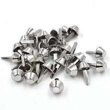 50 pieces/lot) Bags spikes. Bubble nails. Bag rivets. Round package nail. Spikes. Brads. Metal Plating Process