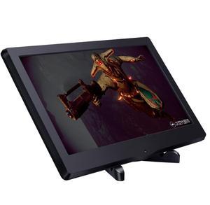 Image 3 - 13.3 Inch 1080P Di Động Màn Hình Màn Hình LED Hiển Thị Màn Hình 1920X1080 HDMI/VGA/DVI Cho PS3 PS4 WiiU Xbox360 raspberry Pi 3B