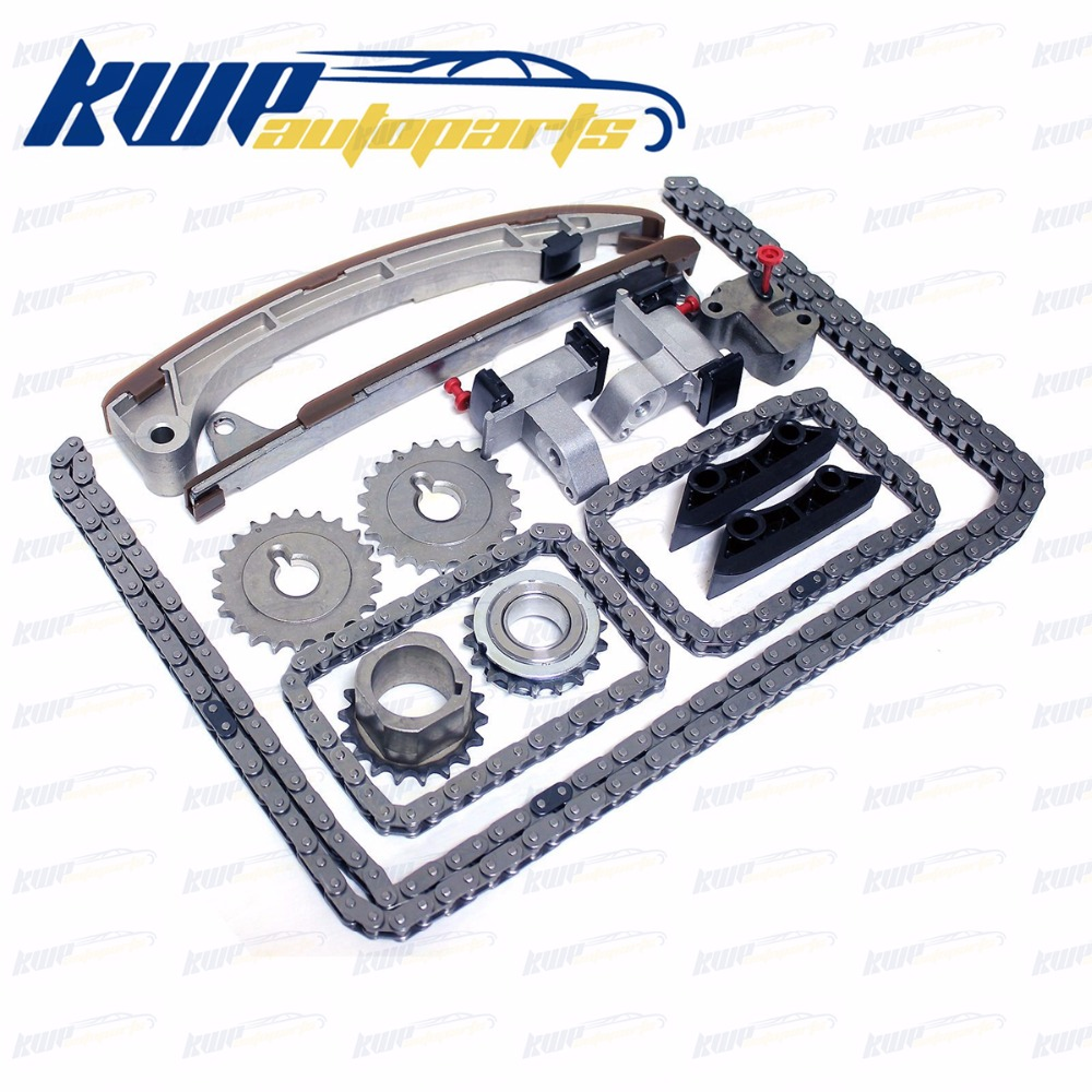 TIMING CHAIN KIT FOR TOYOTA 4RUNNER FJ CRUISER TACOMA TUNDRA 4.0L 1GRFE 1GR-FE DOHC timing belt kit for toyota hilux ii tacoma ii hiace iii iv 4 runner surf vw taro oem ktb372