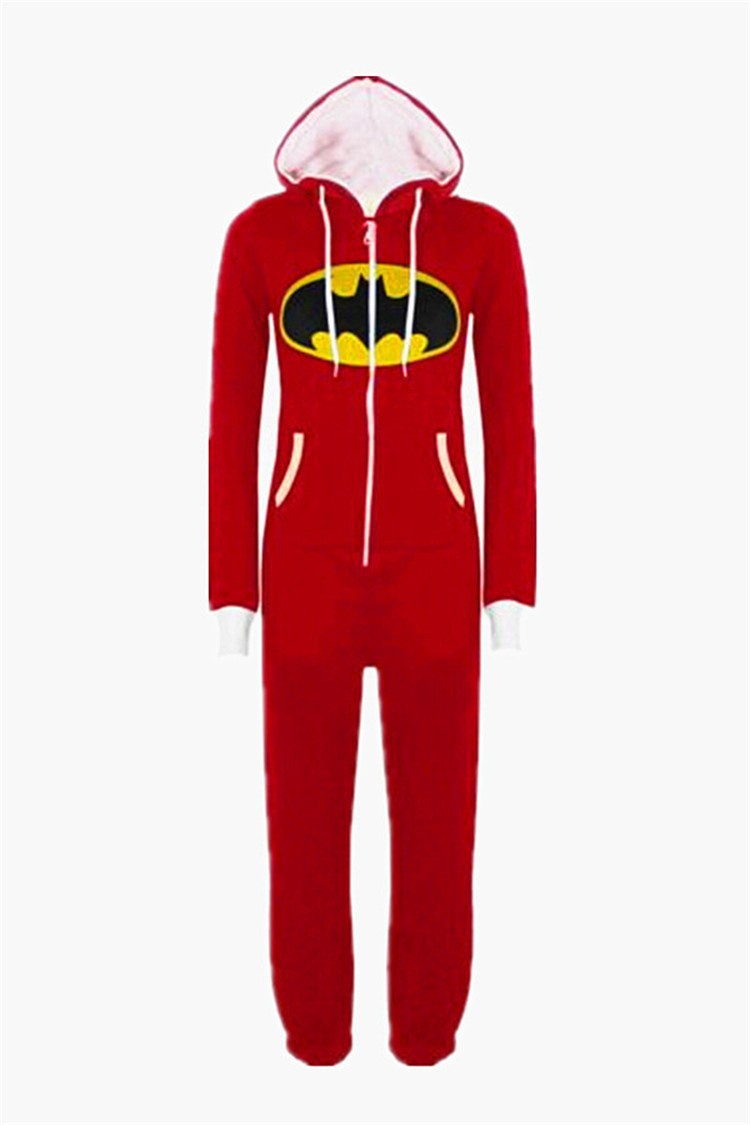 Аниме Супермен Pijamas De Bichos супергерой Batgirl взрослый Onesie ... 1f7b5b260187e