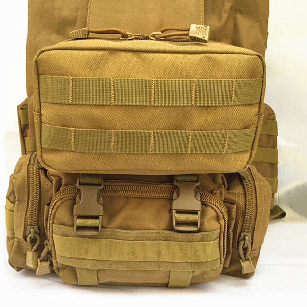 Tactical Molle EDC Utility Magazine Pouch Military Waist Tool Bag Multi-purpose Water-resistant Utility Gadget Gear Hanging Bag