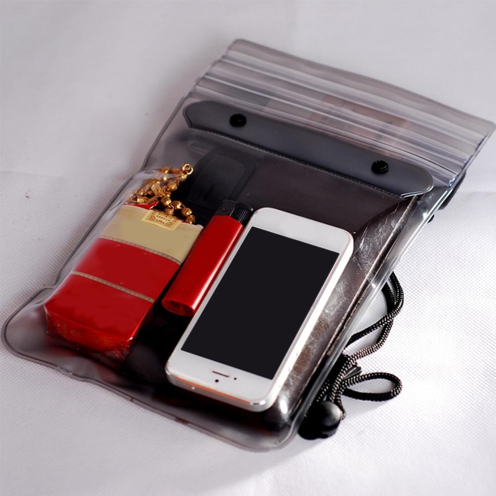 Swimming Bag Phone Storage Eco-friendly Songkran Festival Wallets Dustproof Dirtproof Beach Rafting Keys Outdoor Waterproof Dry