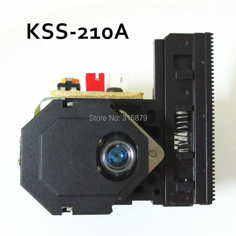 2 pieces/lot Brand New KSS-210A CD Laser Pickup Replacement KSS210A KSS 210A 2pcs lot kss 213c kss 213b kss 213cl kss 213 radio cd player laser lens optical pick ups bloc optique