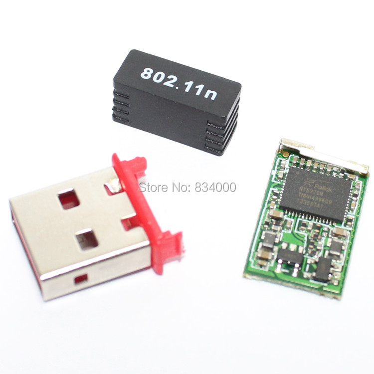 Free Shipping 500pcs 150mbps RT5370 Mini Wireless USB
