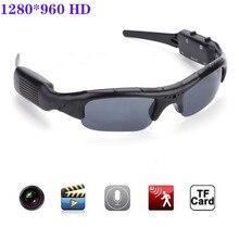 Спортивная камера рекордер Цифровая камера солнцезащитные очки HD очки DVR видео рекордер для велоспорта/вождения/катания на лыжах