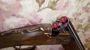 Image 2 - טקטי 2pcs אלומיניום ציד 12GA ירי הצמד כובעי תחמושת פגזים 12 מד אימון לשימוש חוזר ממוחזר ירי יבש
