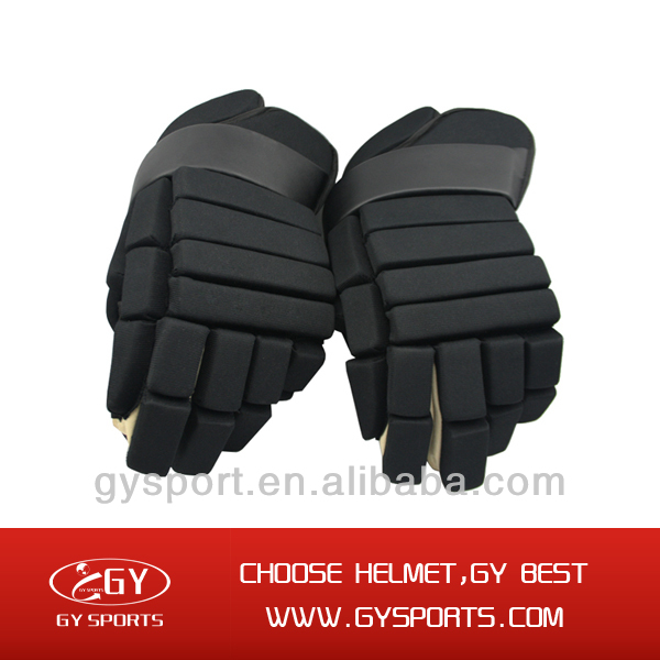 2014 Breathable And Anti Slip Padded Hockey Gloves The Skill Is