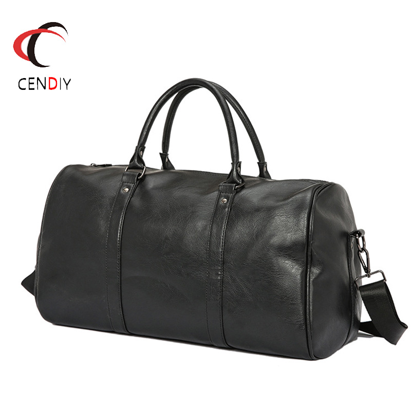 New Vintage Men Briefcase Shoulder Bag Messenger Bags Casual Large Capacity Laptop Briefcase Male Designer Simple Crossbody Bags