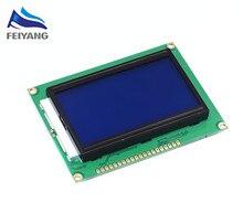 5 шт./лот ЖК-дисплей 12864 128*64 ЖК-дисплей 12864 точки Графический голубой цвет Подсветка ЖК-дисплей Дисплей Shield 5.0 В