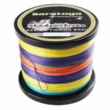 """Saratoga"" 8 Strands Braided Fishing Line 1000m 6lb 8lb 10lb 15lb 20lb 30lb Multifilamnet Fishing Wire"