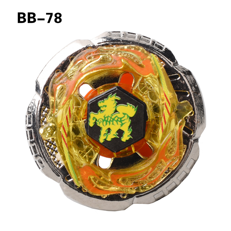 1pcs Spin Tops Metal Fusion Spinning Top Fight Fusion BB78 4D Without Launcher D