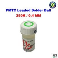 Free Shipping PMTC Leaded Solder Balls 250k 0 4 Mm For Bga Rework Reballing
