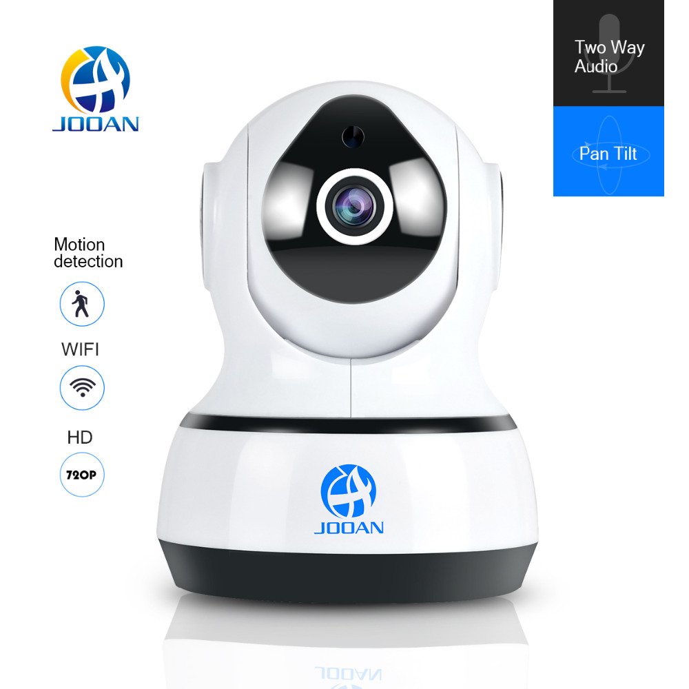 JOOAN 720P Wireless IP Camera 1280*720 Network Surveillance Wifi Night Vision CCTV Security Camera Indoor Baby Monitor
