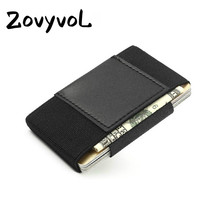 ZOVYVOL 2019 Mini Credit Card Holder Leather New Wallet for Men and Women Casual Fashion Slim High Quality Coin Purse