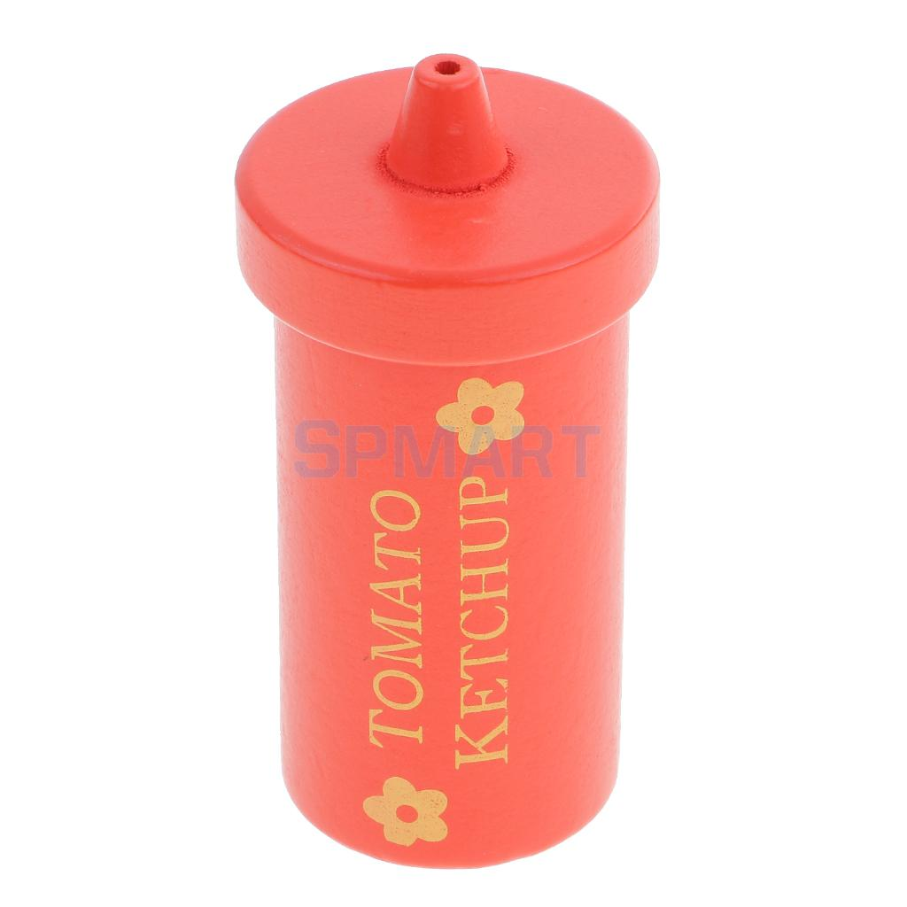 Pretend Kitchen Ketchup Play Vegetable Food Kids Role Play Game Kitchen Cooking Condimen ...