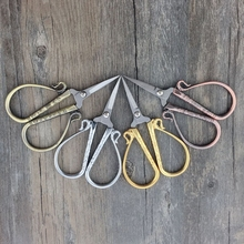Stainless Steel European vintage scissors Vintage Floral Retro Sewing Scissors Cutter Tailor Fabric Embroidery