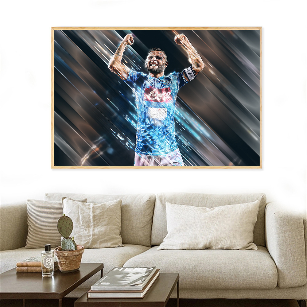 Messy Bedroom Art Sports Bedroom Paint Ideas Jamestown Blue Bedroom Disney Frozen Bedroom Paint Colors: Creative Wall Art Sport Poster Neymar Dybala Blades Style
