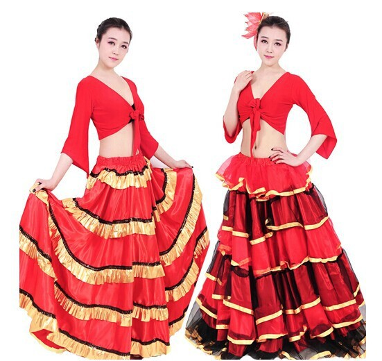 DB23542 flamenco costumes-9