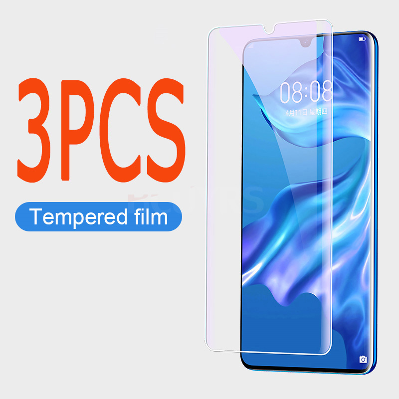 3-1PCS Tempered Glass For Huawei P30 P20 P10 Lite P10 Plus Glass Screen Protector For Huawei Mate20 10 Lite P20 Pro Glass Film