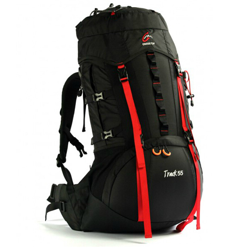 ФОТО Crosstop TRACK 55+10L Outdoor Mountaineering Bag Hiking Double-shoulder Backpack Enlarge 10L Sport Bag