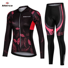 Frauen Radfahren Jersey Mtb Fahrrad Kleidung Weibliche Ciclismo Lange Sleeves Road Bike Kleidung Reiten Hemd Team Jersey mountainbike