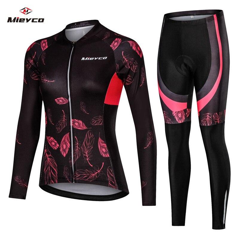Mulheres camisa de ciclismo mtb bicicleta roupas femininas ciclismo manga longa estrada roupas equitação camisa da equipe jérsei mountain bike