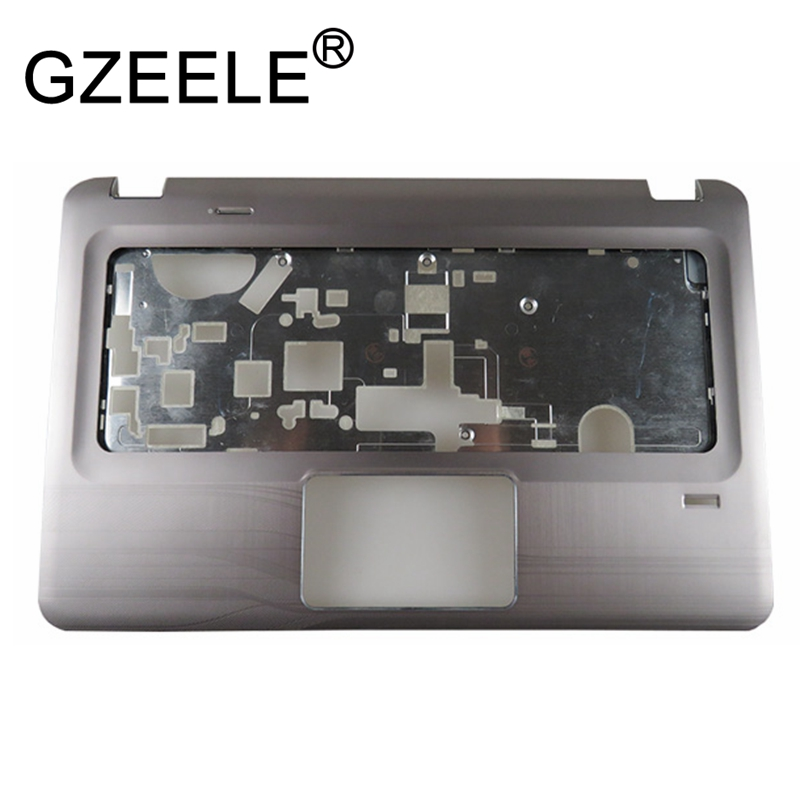 цена GZEELE new Laptop top case For HP For Pavilion DV6-3000 DV6 3028TX 3029TX DV6-3100 Palmrest top Upper cover Keyboard bezel