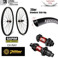 DT Swiss 240 29er Carbon MTB Wheel XC AM Wheelset Japn Toray Carbon Rim 33mm 29mm Super Light Weight Rim 350g Only