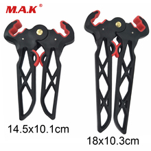 цена на Archery Compound Bow Kick Stand Holder Legs Scissor Shape for Compound Bow Bracket Hunting