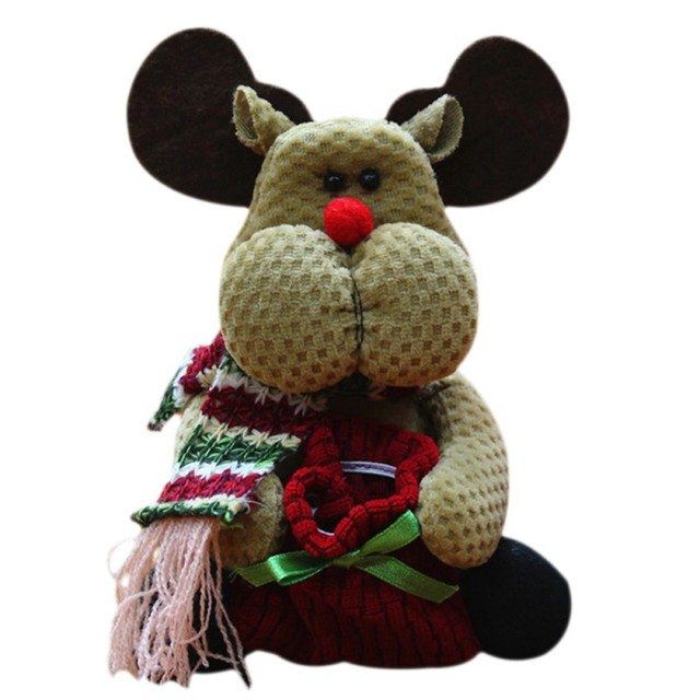 new christmas present snowman santa claus moose indooroutdoor christmas party supplies christmas decorations - Outdoor Moose Christmas Decorations