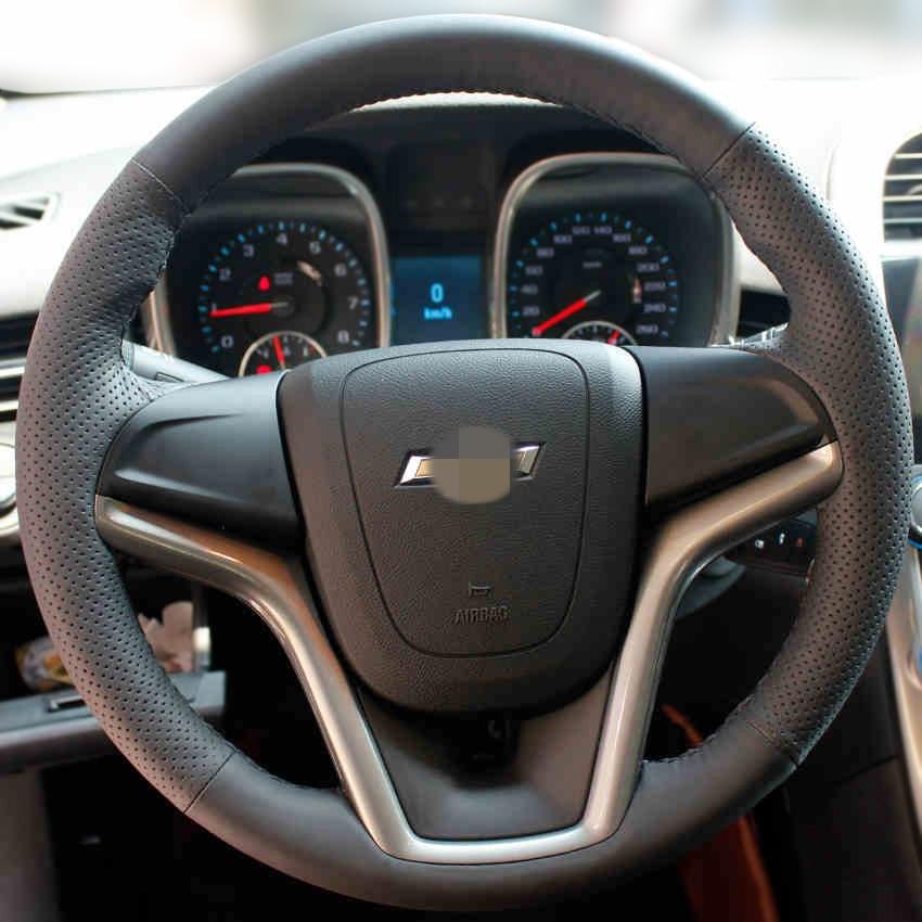 Parlaq buğda Chevrolet Malibu 2011-2014 üçün Əl ilə - Avtomobil daxili aksesuarları - Fotoqrafiya 3