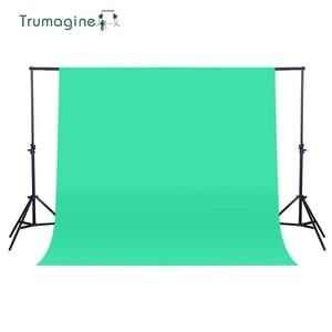 Image 3 - TRUMAGINE 160X200 cm Ảnh Nền Nhiếp Ảnh Backdrop Không Dệt Màu Xanh Lá Cây Photo Studio Chụp Chroma key Màn Hình Màu Rắn