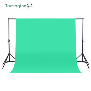 Image 3 - TRUMAGINE 160X200CM Photo Background Photography Backdrop Non Woven Green Photo Studio Shooting Chroma key Screen Solid Color