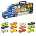 Classic toys 13 cars набор Brinquedos Инерциальной Сплава автомобиля toys модель Автомобиля Большие грузовики Игрушки для детей juguetes Мальчик подарок