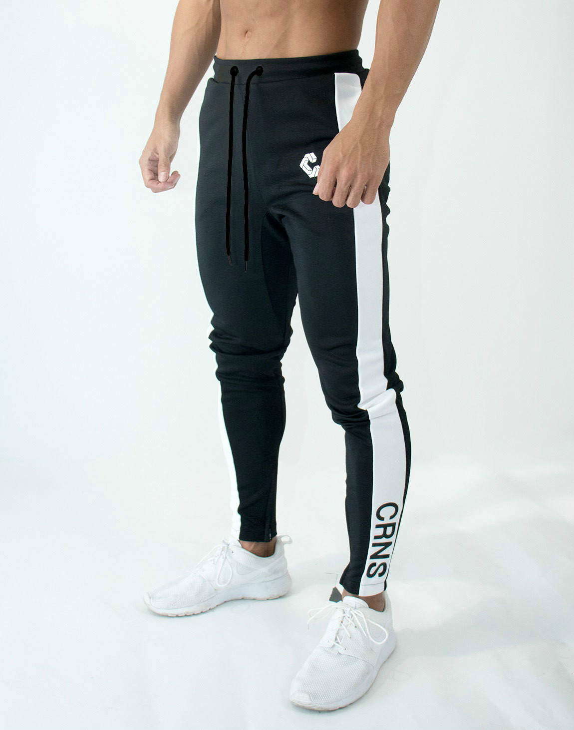 Mens Joggers Casual Pants Fitness Men Sportswear Bottoms Skinny Sweatpants Trousers Fashion Gyms Jogger Track Pants