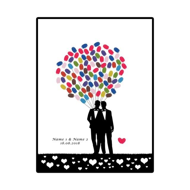 Personalisierte Homosexuell Hochzeit Dekoration Gast Schild Kreative