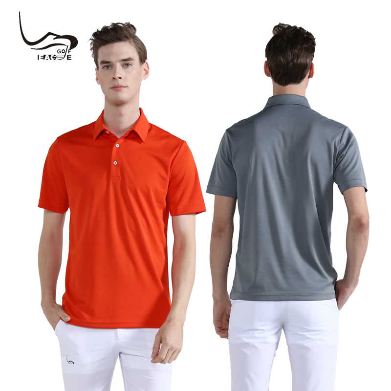 8b8e4a5ac ... Wholesale EAGEGOF Men short sleeve golf Tshirt Quick Dry Breathable  sportswear Custom DIY Design Brand  ...