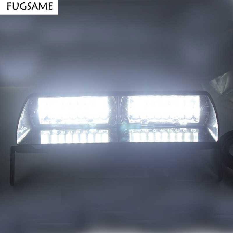 FUGSAME S2 16pcs LED Signal Warning Emergency Strobe Police Flashing Light Intimidator LED Dash Light96W Super Bright браслеты police pj 25697bss 01 s