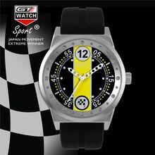 GT Luxury Brand Men Watch Diseño Fresco de La Moda Serie de Carreras de Silicona Reloj de Pulsera Relojes relogio masculino FD0793 Auténtica Caliente