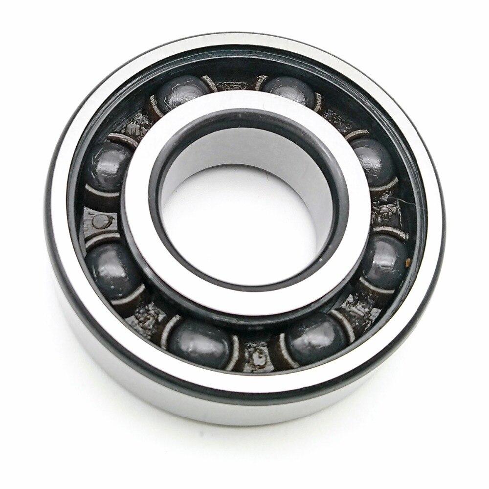 1pcs MOCHU Bearing 6300-2RS1 6300 TN9 HQ1 P53 10X35X11 6300 MOCHU Hybrid Ceramic Ball Bearings Single Row Si3N4 Ball ABEC-5