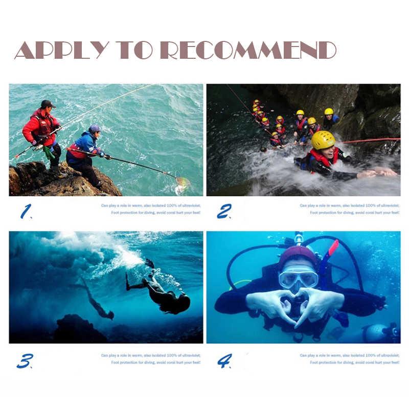 Comodo respirabile Lo Snorkeling Spiaggia Calzini e Calzettoni Non-slip Diving Nuoto Calzini e Calzettoni Rapidamente A Secco Scuba Avvio Acqua di Sport Anti-skid calzini e Calzettoni