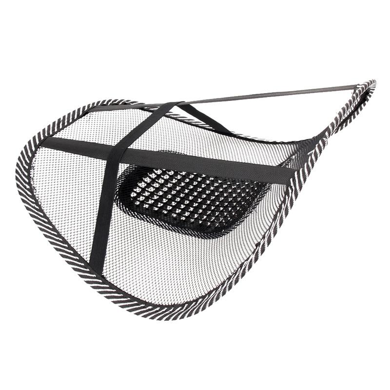 Орындық массажі Back Cushion Pad қара артқы - Автокөліктің ішкі керек-жарақтары - фото 6